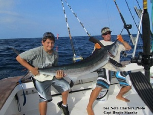 Sea Note Charters