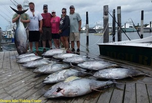 Saturday 6 24 17 tw 39 s bait and tackle for Oregon inlet bridge fishing report
