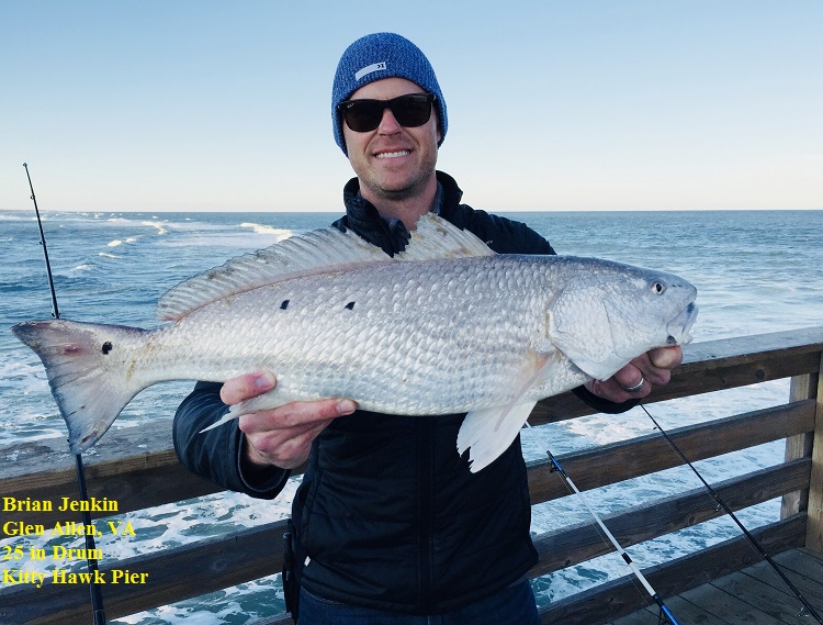 Outer banks fishing report saturday 11 25 17 for Obx fishing reports